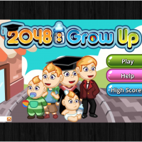 2048 Grow Up Game